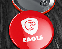 Button Badge Mock-up
