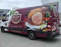 Brady Family Fleet Branding - Design and Wrap