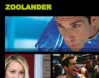 HTML and Flash - Derek Zoolander Webpage