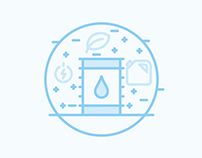 Concept Icons/Illustration | Economy/Energy/Health
