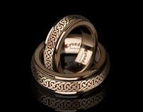 Slavic wedding ring   TYVODAR
