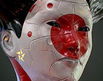 Cyber Geisha Oscar creativo