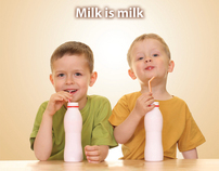 American Dairy Families ad