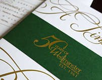 Westminster Gala Invitations
