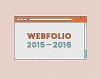 Webfolio 2015-2016