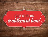 Concours Érablement Bon!