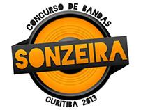 Marca e materiais feitos para o SONZEIRA 2013