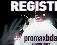 PromaxBDA Europe Conference 2012 Print Ad