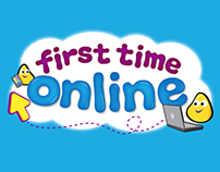 Children's Branding - First Time Online