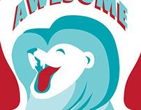 Madison College Portfolio Show Circus Invitation