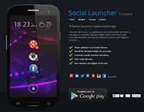 Social Launcher Minisite