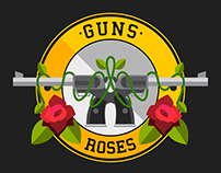 EVOLUCIÓN ILUSTRADA DE GUNS N' ROSES