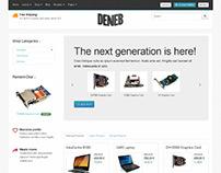 Deneb, VirtueMart Joomla Premium Ecommerce Template