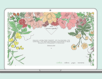 health and beauty salon. landing page/branding