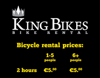 King Bikes logo & material