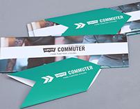 """Levi's® SS13 """"Commuter"""" Leaflet"""