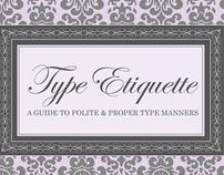 Type Etiquette