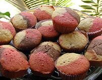 Vanilla Choco strawberry cupcakes