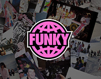 Funky Surfboards - Summer is Funky   Branding Concept