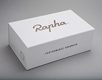 Rapha Climbing Shoe Packaging with Irving & Co