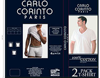 EMPAQUE CARLO CORINTO PARIS (T-SHIRT)