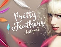 Pretty Feathers Art Pack