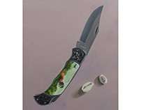 Knife and Shells