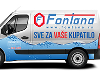 Fontana - vehicle branding