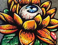 Lotus flower - Illustration