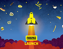 Food Space Launch - Event Branding