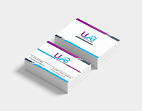 ULab Visiting Card Design #08 Mar 2019_Creative Design