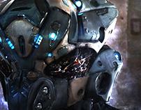 SAPD UNIT-Y-06 Mech Droid