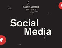 Badmanner Thymes Espresso - Social Media