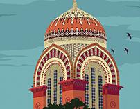 Madras University - illustration