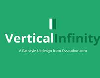 Vertical Infinity - A Mega Flat Style UI Kit
