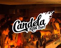 Candela, Rock Bar. Logo and Gig Posters