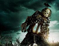 CBS FILMS | Scary Stories | EPK Website UI Design
