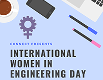 International Women in Engineering Day Activity Poster