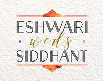 Eshwari Weds Siddhant
