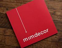 Mimdecor Brochure Design