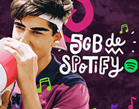 WTF - 5GB de Spotify - Animation and Illustration