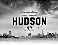 Hudson NY | Display Font