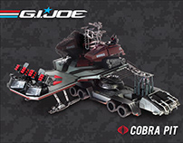 GI Joe - Cobra Pit Mobile Headquarters