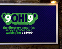 Directory enquiries campaign poster