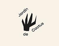 Jardin de cactus - cactus garden rebranding