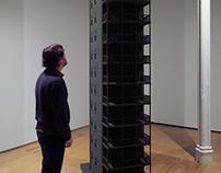 Patrick Robideau Exhibition at Hallwalls, Buffalo, NY.