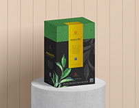 Free Product Packaging Box Mockup