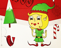Coffine Gurrunaru Christmas Designs