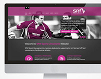 SRW Sports Consultants Brand & Website