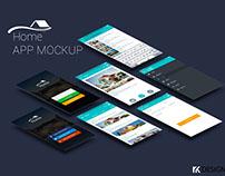 App page Mockup